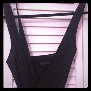 Donna Karen Collection long black gown
